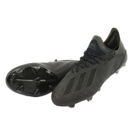 Scarpe da calcio adidas X 19.1 Fg M F35314 nero 4