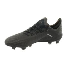 Scarpe da calcio adidas X 19.1 Fg M F35314 nero 2