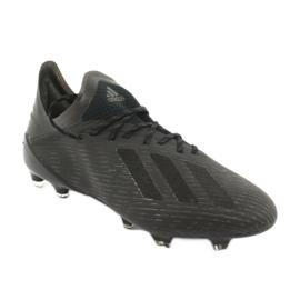 Scarpe da calcio adidas X 19.1 Fg M F35314 nero 1