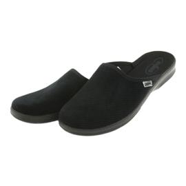 Befado scarpe da uomo pu 548M020 nero 4