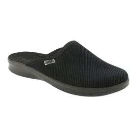 Befado scarpe da uomo pu 548M020 nero 1