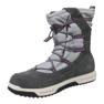 Stivali invernali Timberland Snow Stomper Pull On Wp Jr A1UJ7 grigio 1