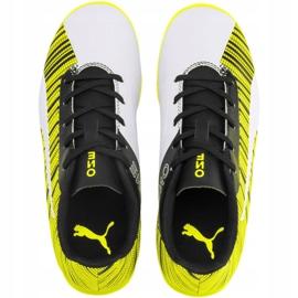 Scarpe da calcio Puma One 5.4 It Jr 105664 04 giallo bianco, nero, giallo 1