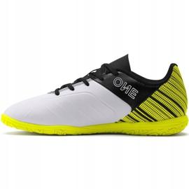 Scarpe da calcio Puma One 5.4 It Jr 105664 04 giallo bianco, nero, giallo 2
