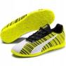 Scarpe da calcio Puma One 5.4 It Jr 105664 04 bianco, nero, giallo giallo 3