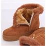 Stivali da neve con pelliccia di cammello PP-30 Camel marrone 2