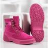 Yes Mile Stivali alla moda annodati rosa 4