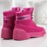 Yes Mile Stivali alla moda annodati rosa 2