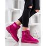 Yes Mile Stivali alla moda annodati rosa 5
