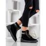 Yes Mile Stivali alla moda annodati nero 6
