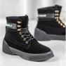 Yes Mile Stivali alla moda annodati nero 2