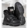 Yes Mile Sneakers con pelliccia nero 3