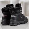 Yes Mile Sneakers con pelliccia nero 2