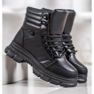 SHELOVET Sneakers isolate nero 3