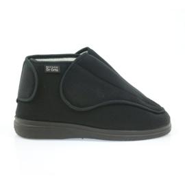 Befado scarpe da uomo pu orto 163M002 nero 1