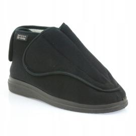 Befado scarpe da uomo pu orto 163M002 nero 2