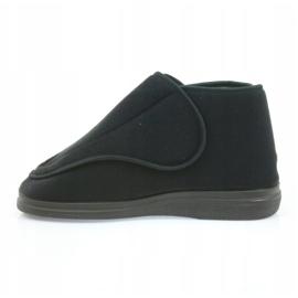 Befado scarpe da uomo pu orto 163M002 nero 3