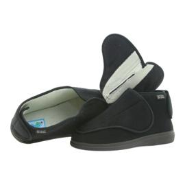 Befado scarpe da uomo pu orto 163M002 nero 4