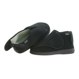 Befado scarpe da uomo pu orto 163M002 nero 5
