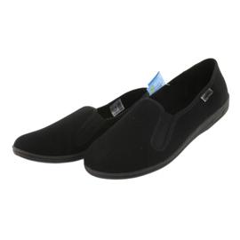 Befado scarpe da uomo in pvc 001M060 nero 3