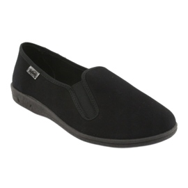 Befado scarpe da uomo in pvc 001M060 nero 2