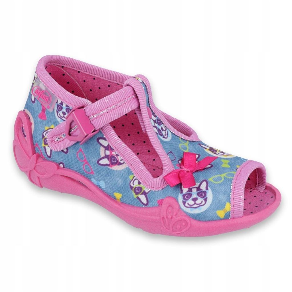 miniatura 2 - Scarpe per bambini rosa Befado 213P113 blu multicolore