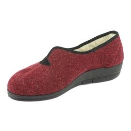 Befado scarpe da donna pu 940D355 rosso 3