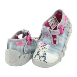 Scarpe per bambini befado kitty 110P365 grigio 3