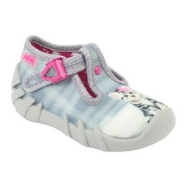 Scarpe per bambini befado kitty 110P365 grigio 1