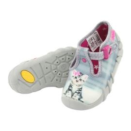 Scarpe per bambini befado kitty 110P365 grigio 4