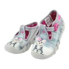 Scarpe per bambini befado kitty 110P365 grigio 2