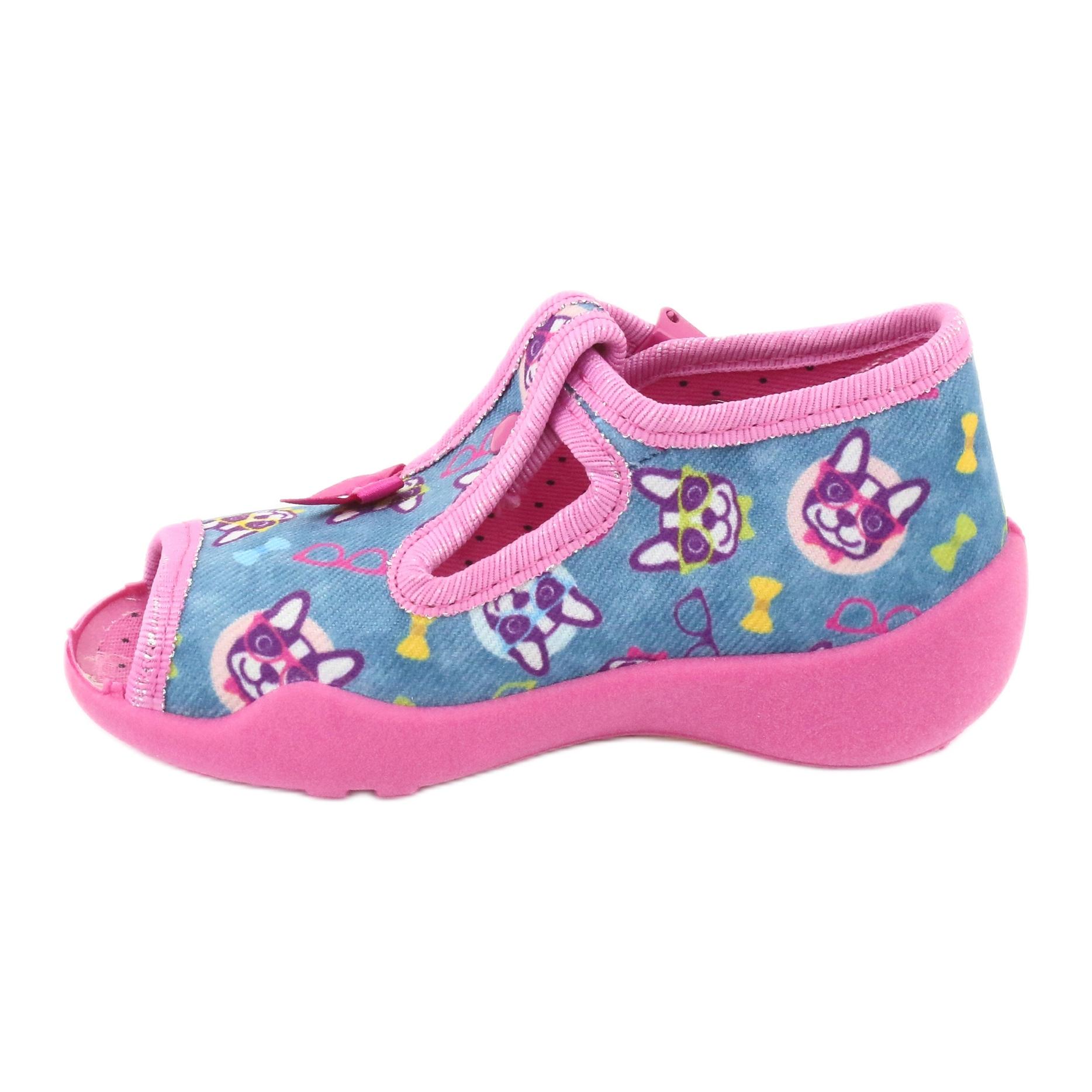 miniatura 4 - Scarpe per bambini rosa Befado 213P113 blu multicolore