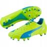 Scarpe da calcio Puma Evo Speed 1.4 Lth Fg M 103615 03 giallo giallo 1