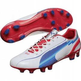 Scarpe da calcio Puma Evo Speed 1 Fg M 102527 01 bianco bianco 1