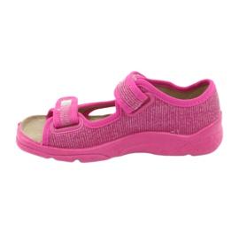Scarpe per bambini Befado 113X009 rosa 4