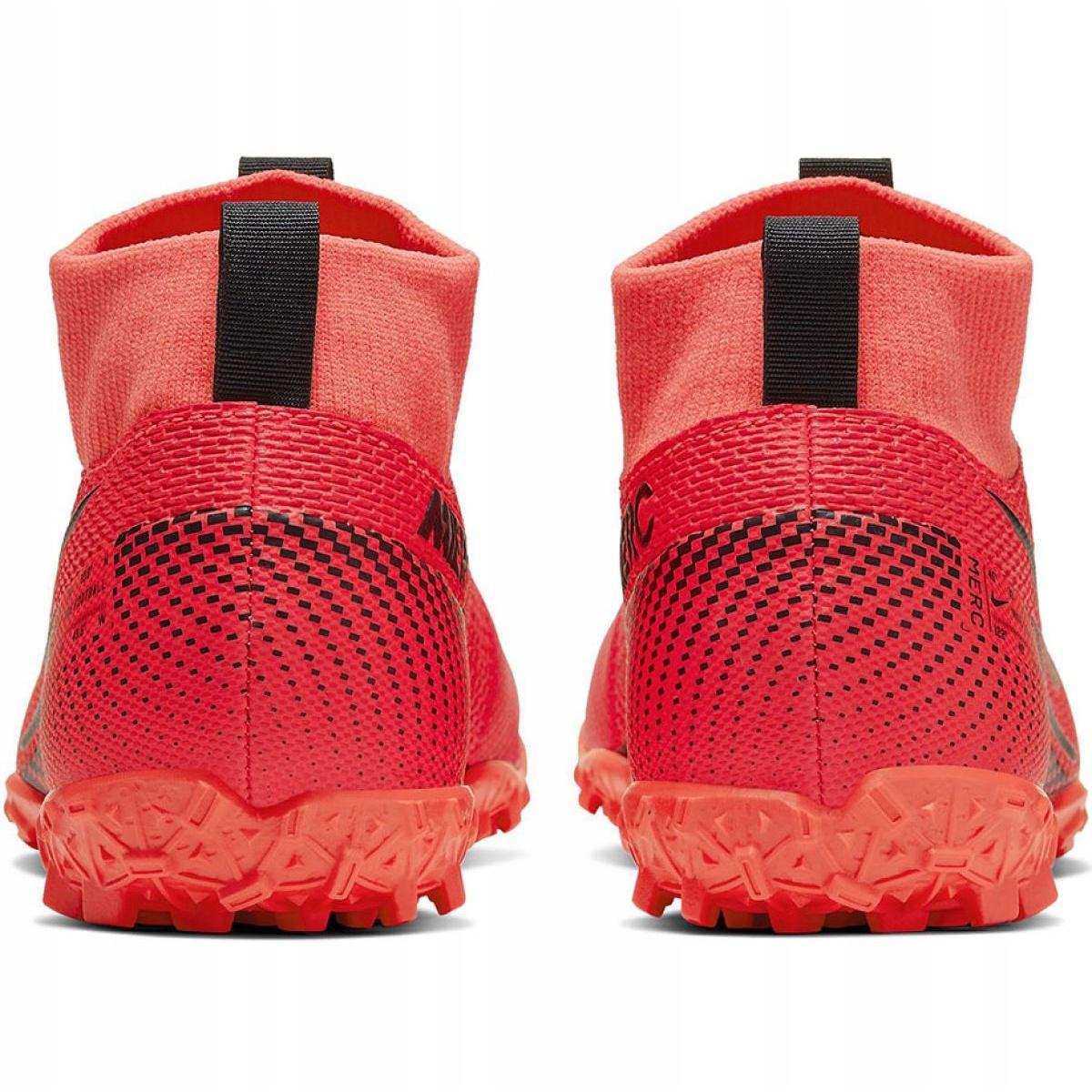 Scarpe-da-calcio-Nike-Mercurial-Superfly-7-Academy-Tf-M-AT7978-606-rosso-rosso miniatura 5