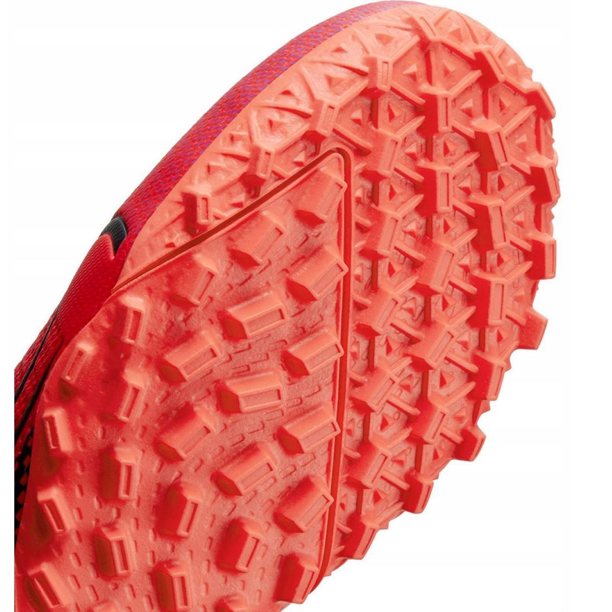 Scarpe-da-calcio-Nike-Mercurial-Superfly-7-Academy-Tf-M-AT7978-606-rosso-rosso miniatura 8