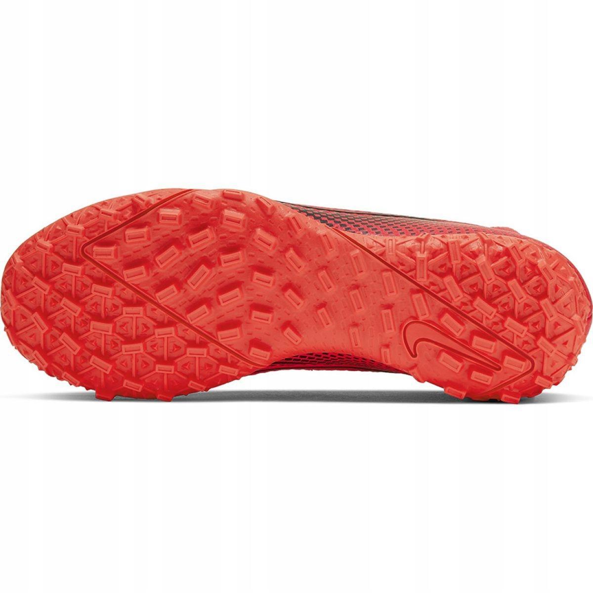 Scarpe-da-calcio-Nike-Mercurial-Superfly-7-Academy-Tf-M-AT7978-606-rosso-rosso miniatura 9