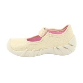 Scarpe per bambini Befado 109P152 giallo 4