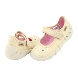 Scarpe per bambini Befado 109P152 giallo 6