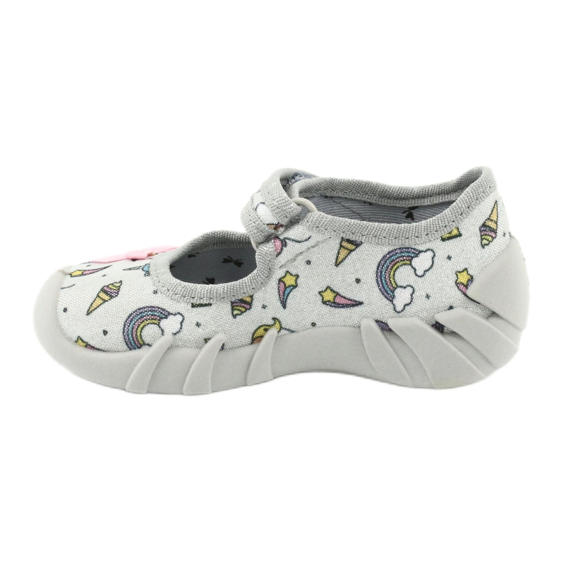 miniatura 3 - Scarpe per bambini Befado 109P199 grigio multicolore