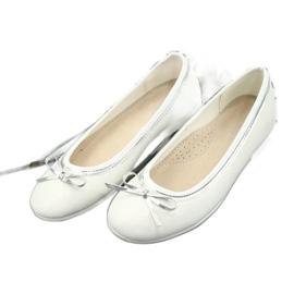 Ballerine con fiocco, white pearl American Club GC29 / 19 2