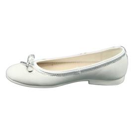 Ballerine con fiocco, white pearl American Club GC29 / 19 1