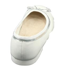 Ballerine con fiocco, white pearl American Club GC29 / 19 3