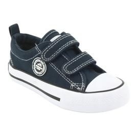 American Club Sneaker American Velcro American Navy LH35 marina 1