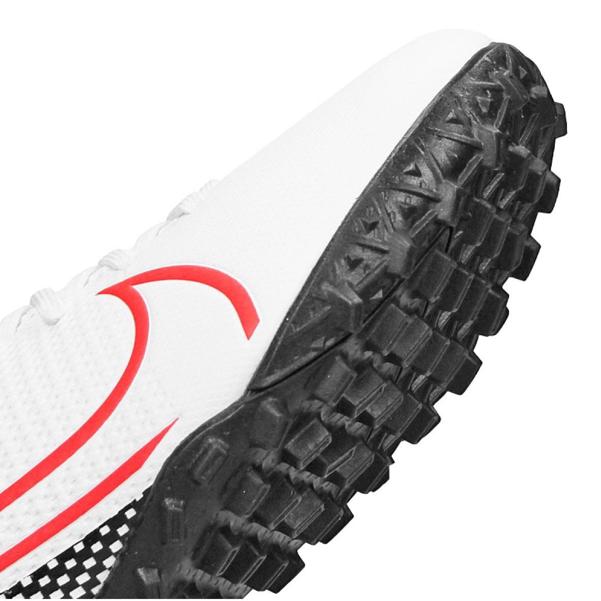 Scarpe-da-calcio-Nike-Superfly-7-Academy-Tf-Jr-AT8143-160-bianco-multicolore miniatura 4