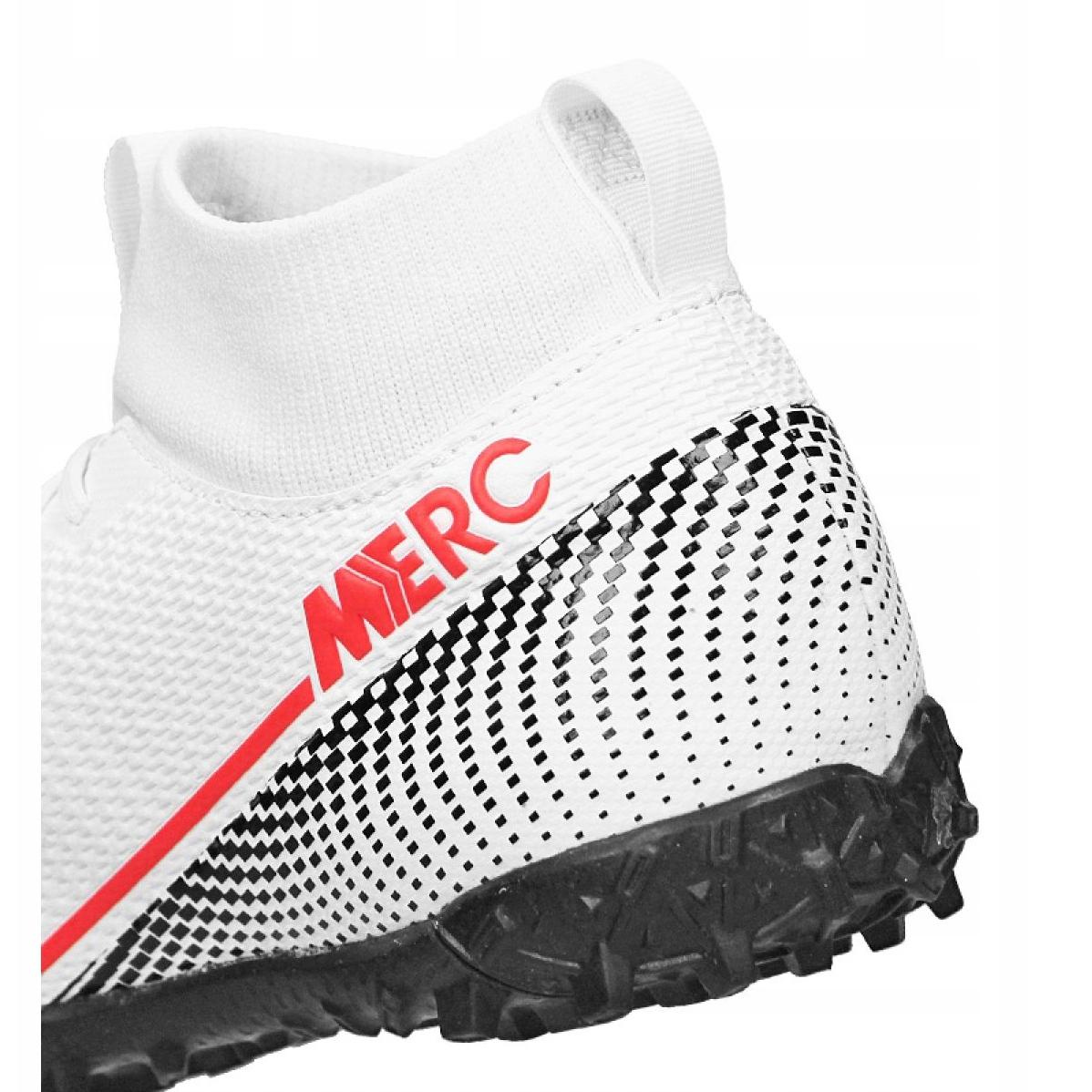 Scarpe-da-calcio-Nike-Superfly-7-Academy-Tf-Jr-AT8143-160-bianco-multicolore miniatura 5