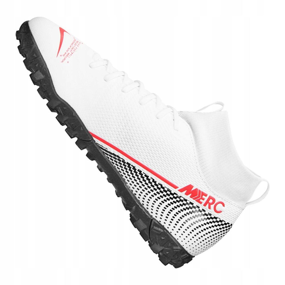 Scarpe-da-calcio-Nike-Superfly-7-Academy-Tf-Jr-AT8143-160-bianco-multicolore miniatura 6
