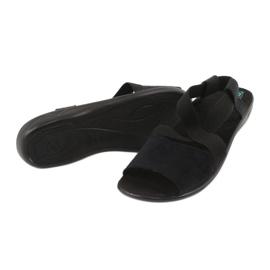 Comodi sandali da donna neri Adanex 17498 nero 2