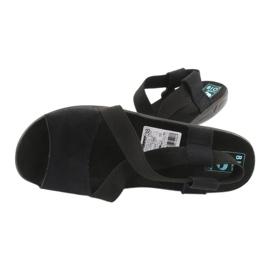 Comodi sandali da donna neri Adanex 17498 nero 3